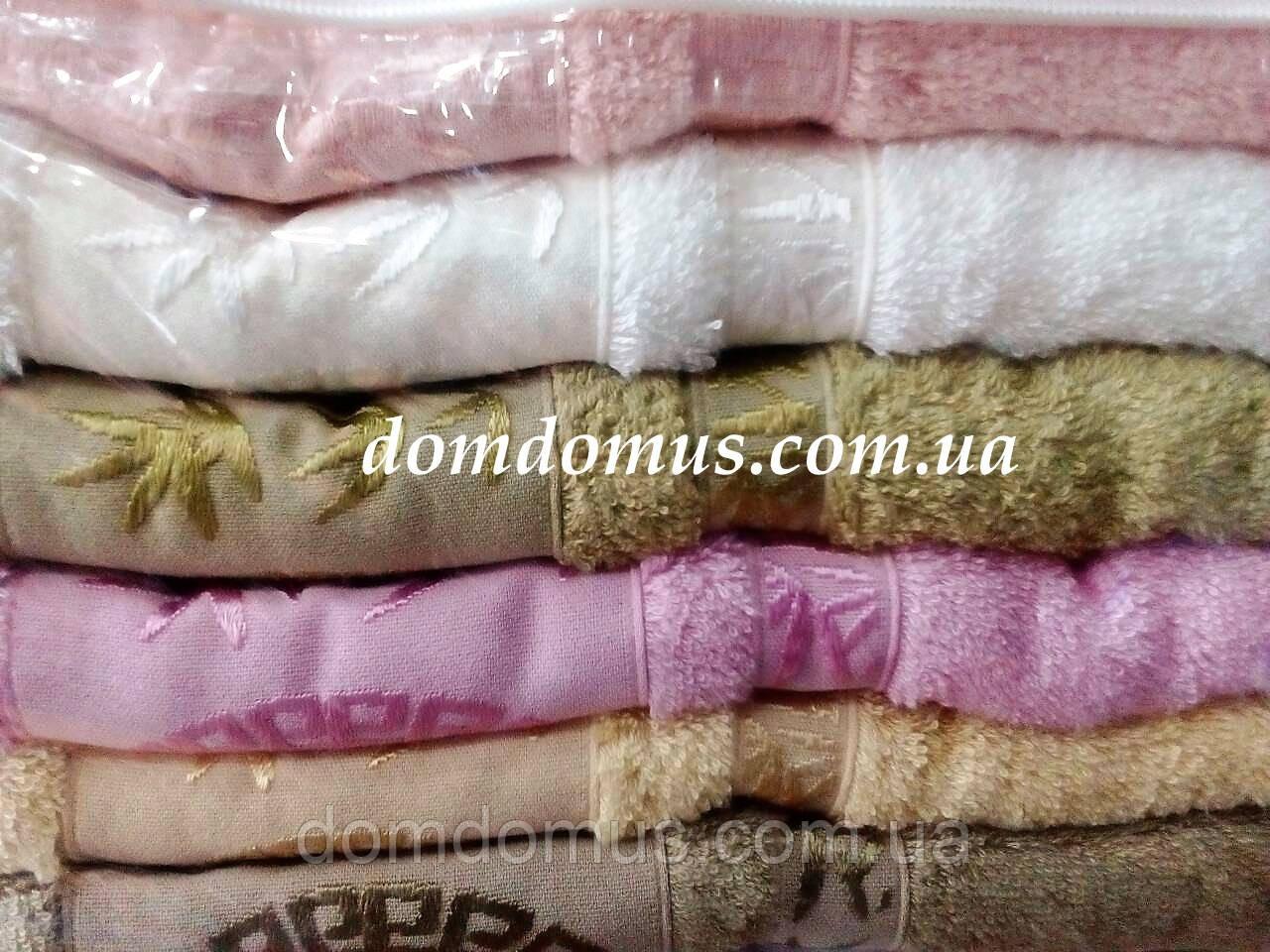 Махровое полотенце ( 100% бамбук) 70*140 Philippus 6 шт./уп.,Турция 021