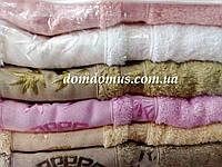 Махровое полотенце (100% бамбук) 90*150 Philippus 6 шт./уп.,Турция 023