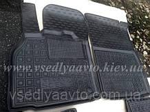Передние коврики в салон для Renault Scenic с 2009г. (Avto-gumm)