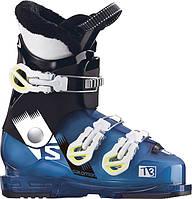 Горнолыжные ботинки детские Salomon alp. boots t2 rt indigo blue translu/bk, 19 (MD)