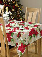 Новогодняя ткань Рождественник