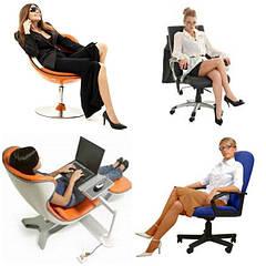 Кресла компьютерные, офисные, для руководителей