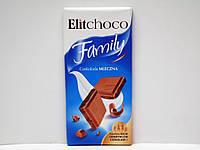 Молочный шоколад Elitchoco Family 100г., фото 1