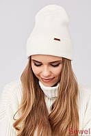Женская зимняя теплая шапка