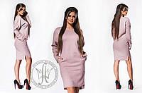 Платье / шерсть букле / Украина