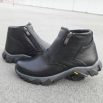 Новинка Зимние подростковые ботинки 366 VIOLES на змейке размерный ряд  35-39 черного цвета 99cbb39f6c3