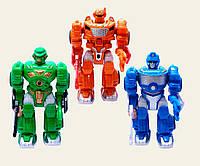 Робот игрушка  на батарейках 7M-412/13/14  3 вида в кор. 24*16.5*11 см.