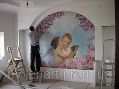Фрески для детской комнаты