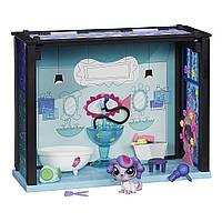 Литл Пет Шоп Игровой набор Спа салон маленький Зоомагазин Littlest Pet Shop Spa Style Playset