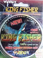 Леска King Fisher Winner, 0,22мм/7,4кг/100м.