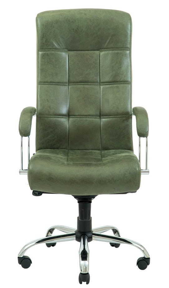 Кресло Вирджиния Хром  Легион зеленый (фото 2)