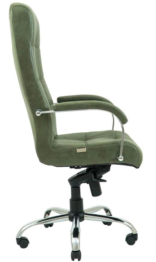 Кресло Вирджиния Хром  Легион зеленый (фото 3)