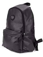 Стильный городской рюкзак Philipp Plane, рюкзак кожаный, черный кожаный рюкзак реплика