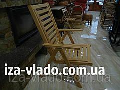 Стілець складаний деревяний «Люкс»