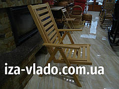 Стул складной деревянный «Люкс»