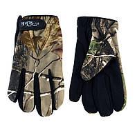 Перчатки мужские тканевые 8 Da De Hua ПМФ флис охота