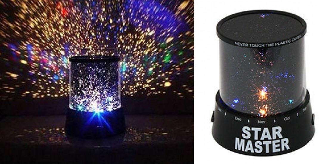 Ночник (проектор) ЗВЕЗДНОЕ НЕБО с USB (Star Master)