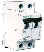 Автоматический выключатель PL4-C40/2, 40 A, 2 полюса, кривая C, Iкз = 4,5 кA, серия Xpole