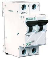 Автоматический выключатель PL4-C50/2, 50 A, 2 полюса, кривая C, Iкз = 4,5 кA, серия Xpole