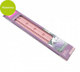Форма силиконовая 30х5х0.5см для мастики текстурная Fissman