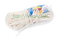 Шнур плетеный из капроновых нитей Д66 (25 м) Ткач