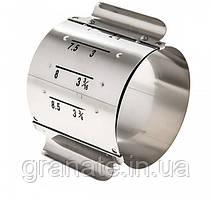Кольцо металлическое регулируемая для гарнира 7-9 см, Н - 6 см