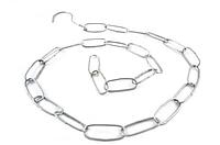 Металлическая торговая цепь 1мм