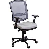 Кресло Коннект HR Сетка серая AMF