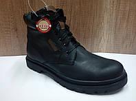 Мужские ботинки зимние МИДА из натуральной кожи 14047