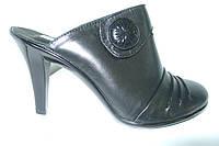 Сабо с закрытым носком из натуральной кожи, от производителя. 36 размер, фото 1