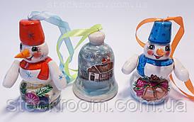 Ёлочные игрушки в наборе (3 шт)