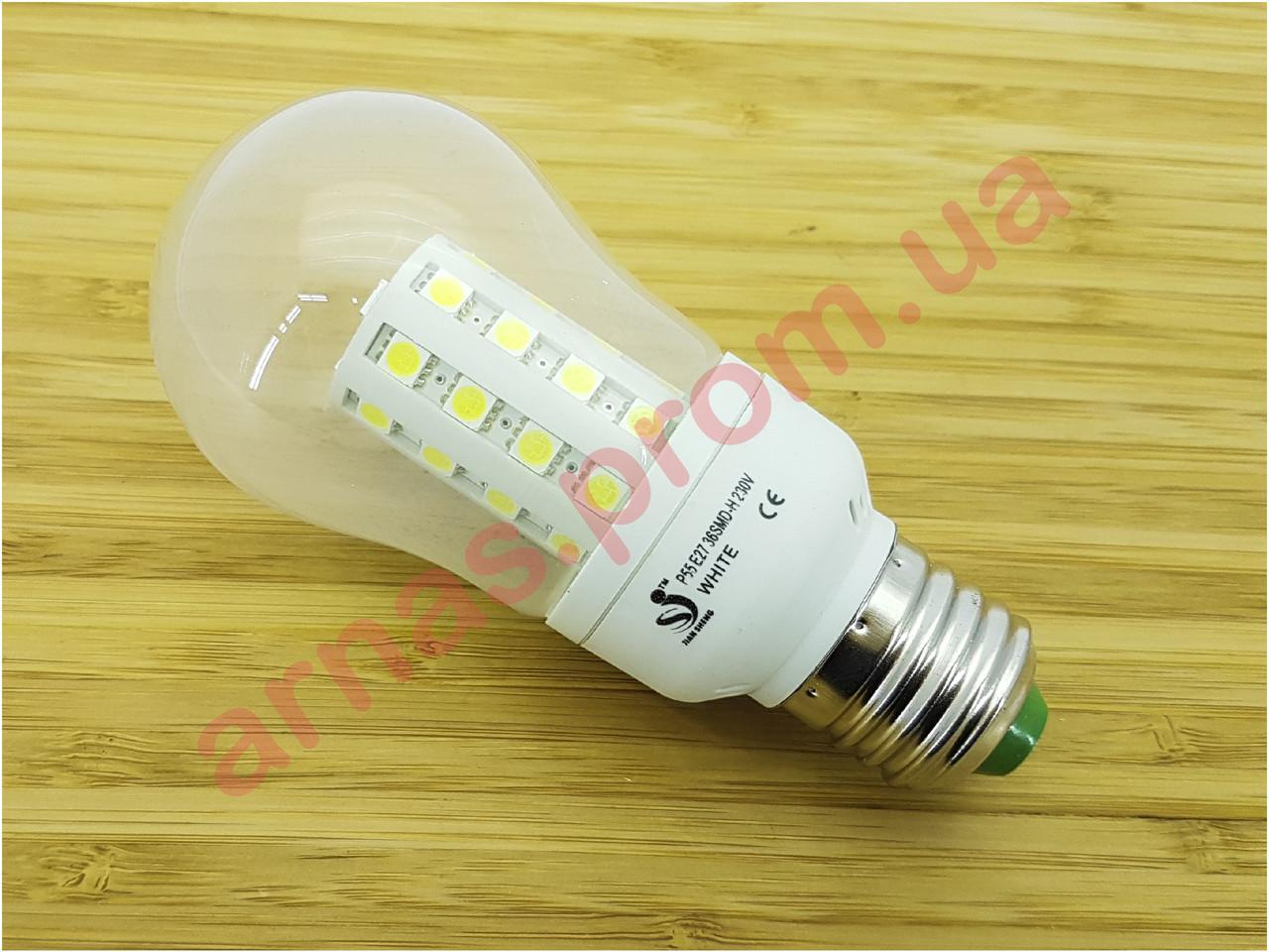 Лампочка P55 E27 36 SMD-H 230V White