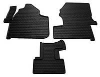 Резиновые коврики для Mercedes  Sprinter II (W906) 2006- (1+1) (STINGRAY)