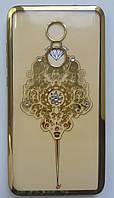Силикон Kingxbar Meizu M5 Comb (Gold), фото 1