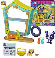 Игровой набор Домик медвежонка Пенни и Кетти Littlest Pet Shop Cozy Clubhouse