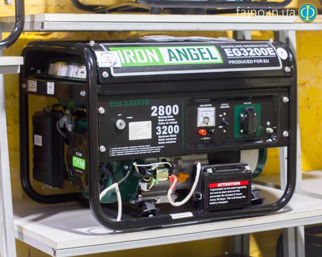 бензиновый генератор Iron Angel EG3200E
