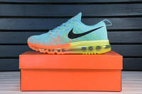 Женские кроссовки Nike Air Max Flyknit 2014 Sky Blue