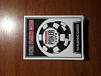 КАРТЫ ПЛАСТИКОВЫЕ игральные World series of poker, 100% пластик.
