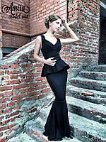 239fc7c6e51 Женское вечернее платье макси с декольте