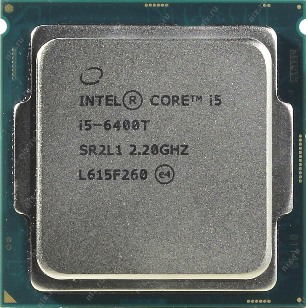 "Процессор Intel Core i5 6400T 2.2GHz/8GT/s/6MB s1151 tray ""Over-Stock"""
