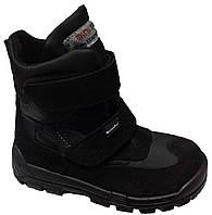 Ботинки Minimen 17BLACK 35 23 см Черные