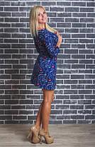 Стильное молодежное платье с принтом, фото 3
