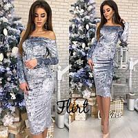 """Велюровое платье новогоднее """"Donna"""" !, фото 1"""