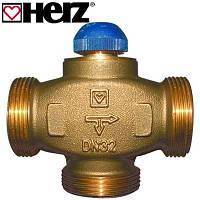"""Клапан термостатический трехходовой HERZ CALIS-TS-RD 1/2"""" (DN15-3/4""""РН)"""