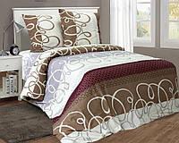 Полуторное постельное белье из бязи в Украине Комфорт Текстиль