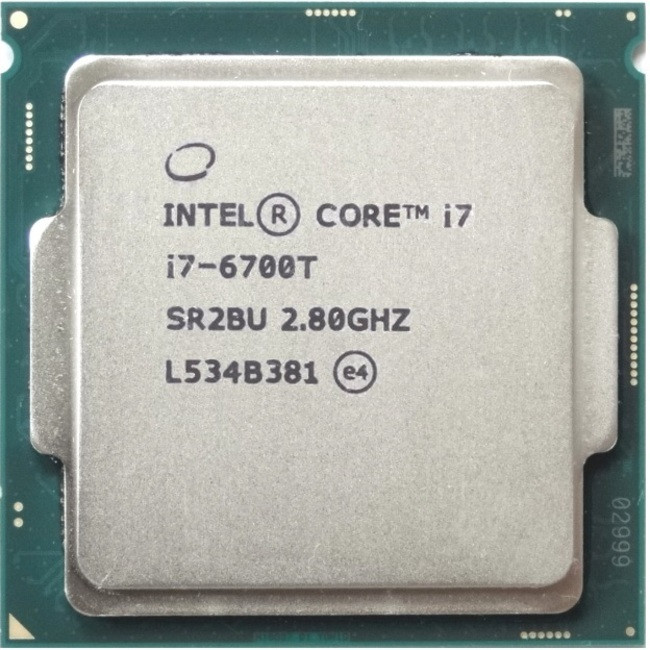 """Процессор Intel Core i7 6700T 2.8GHz/8GT/s/8MB s1151 tray """"Over-Stock"""""""