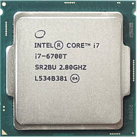 """Процессор Intel Core i7-6700T 2.8GHz/8GT/s/8MB s1151 tray """"Over-Stock"""""""