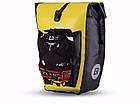 Сумка на багажник Lord водонепроницаемая желтая, фото 4