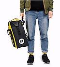Сумка на багажник Lord водонепроницаемая желтая, фото 9