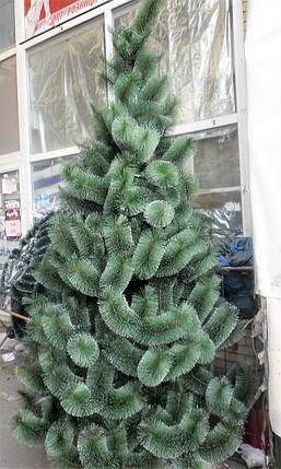 Искусственная елка 2,3 метра , сосна с имитацией инея, фото 2